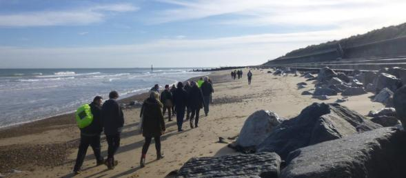 Photo - Eccles to Happisburgh beach